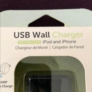 Accessories - iPhone-iPod -iPad charger in black